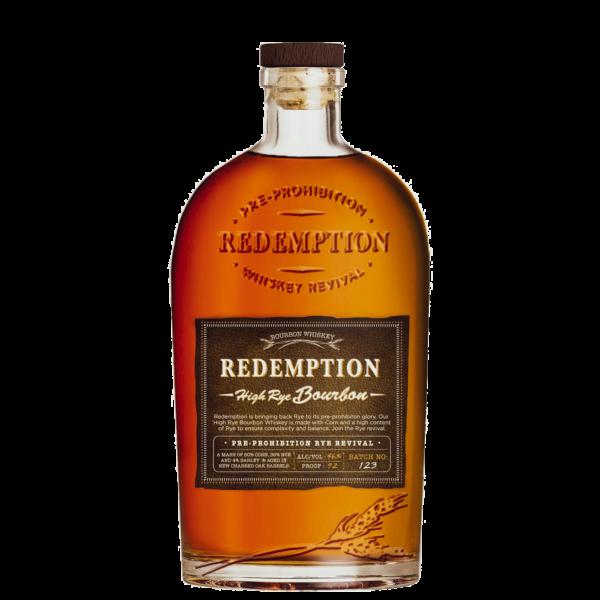 Redemption High Rye Straight Bourbon Whiskey