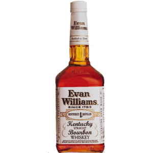 Evan Williams White Label 100 Proof Bourbon Bottled in Bond