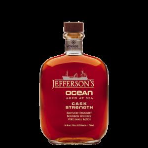 jefferson's ocean aged at sea straight bourbon cask strength