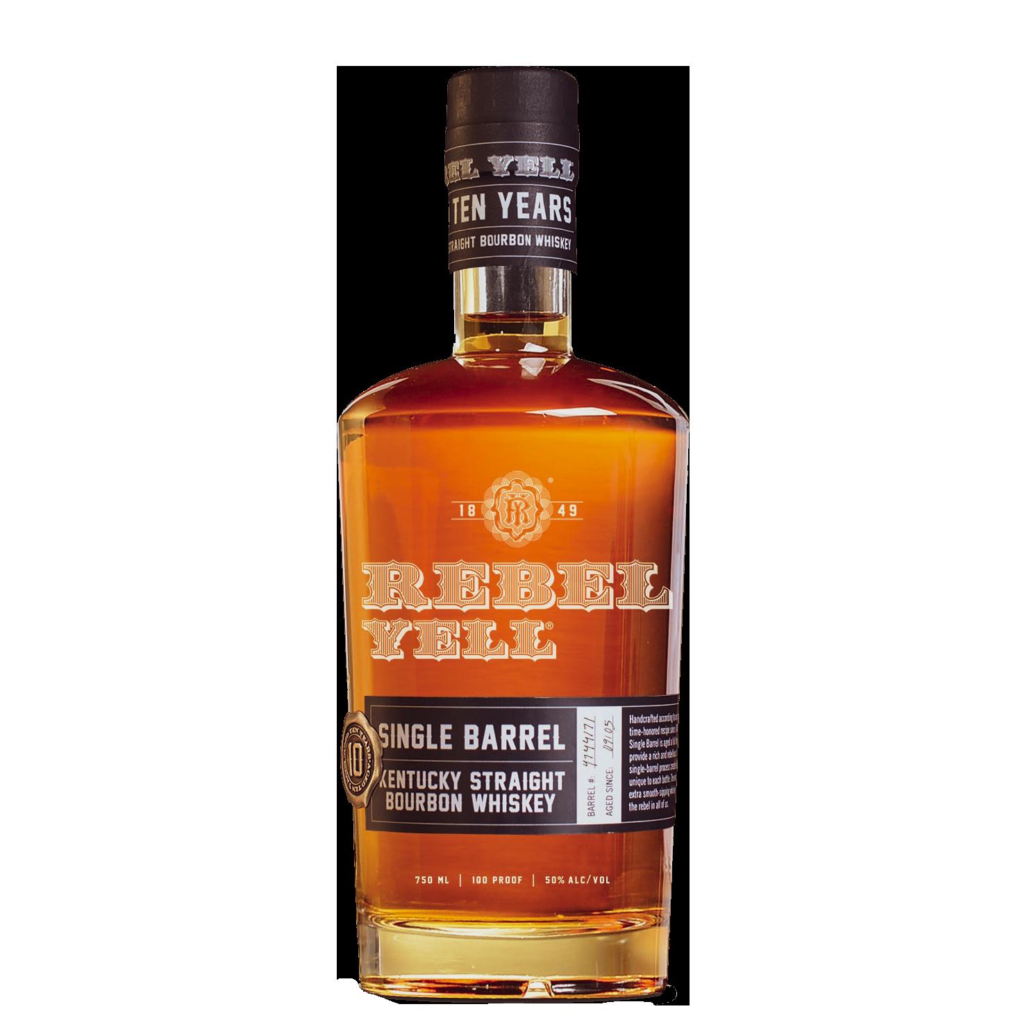 Rebel Yell 10yr Single Barrel Bourbon