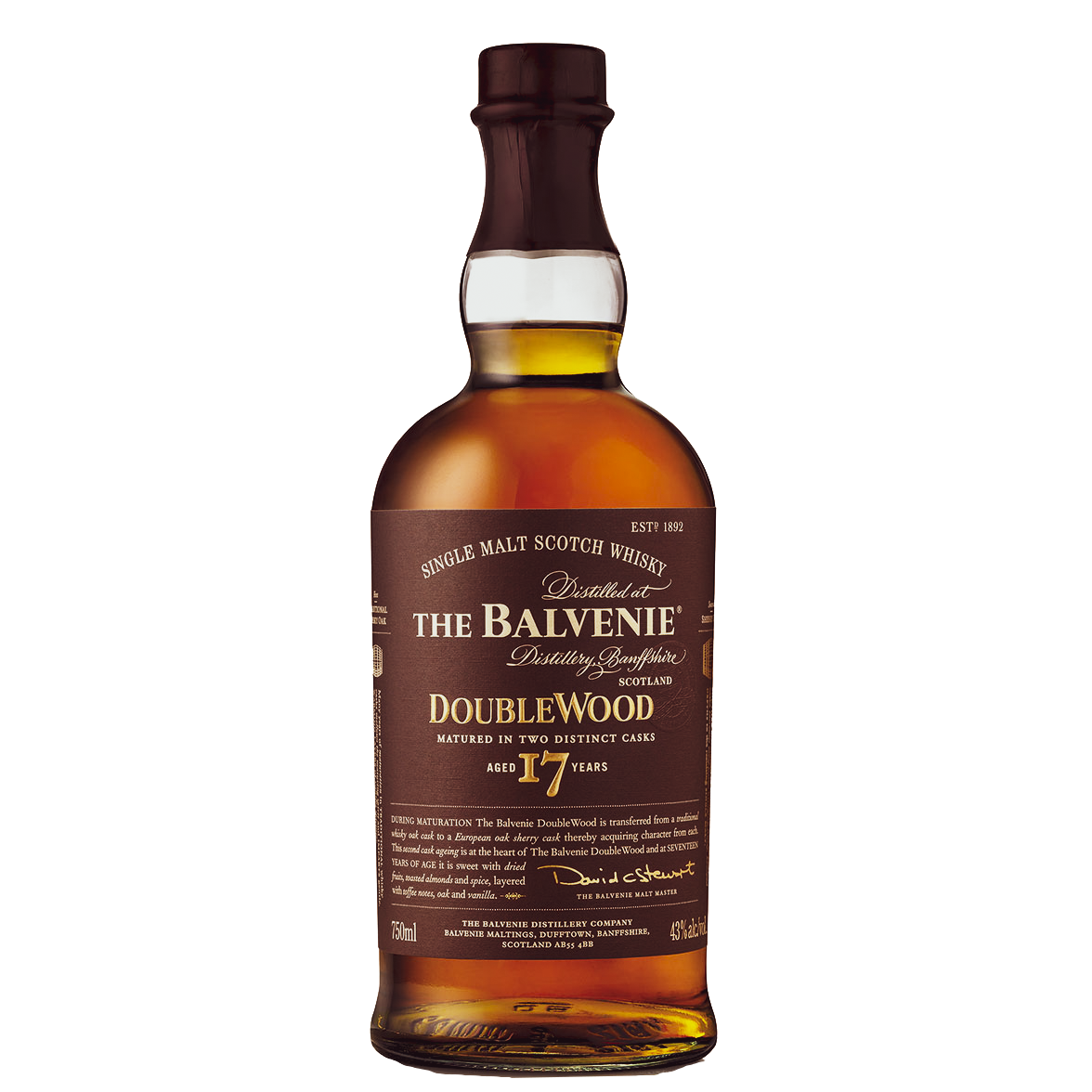 Balvenie 17 year old Doublewood Limited Release
