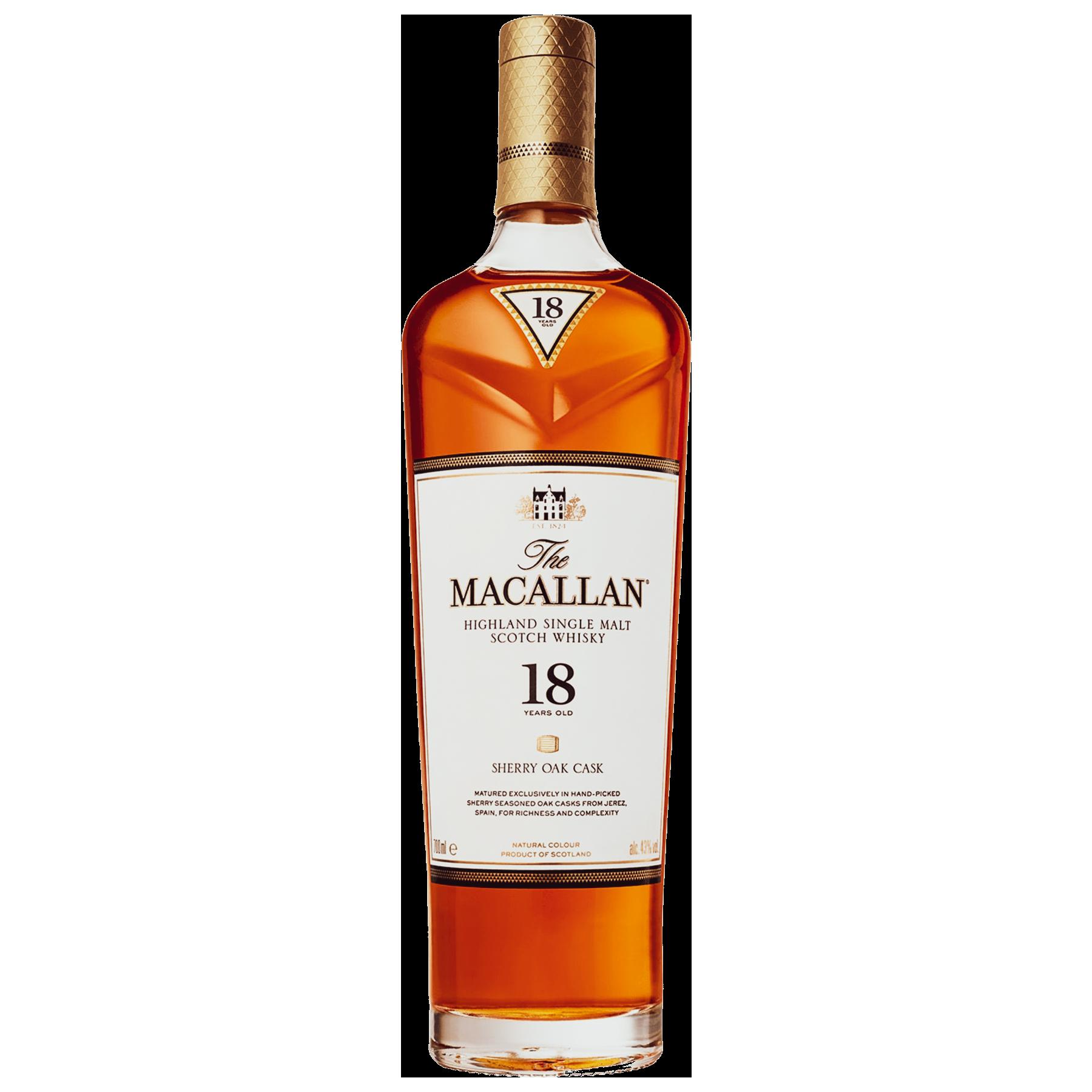 Macallan 18yr Sherry Cask