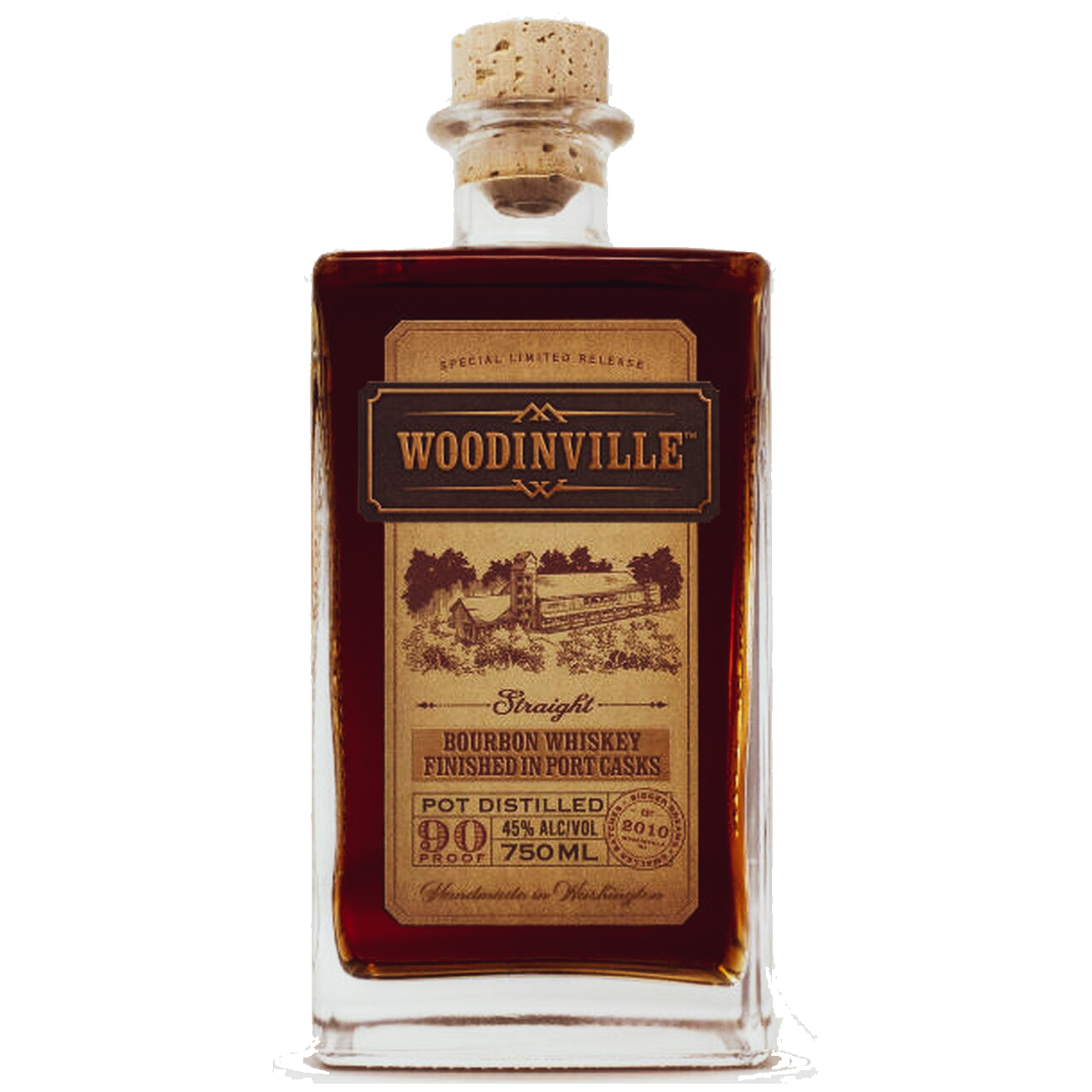 woodinville straight bourbon whiskey port finish