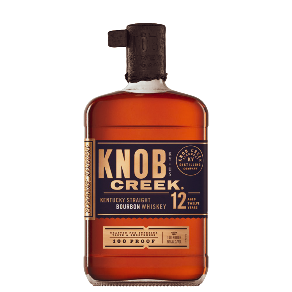 Knob Creek 12 year old Kentucky Straight Bourbon