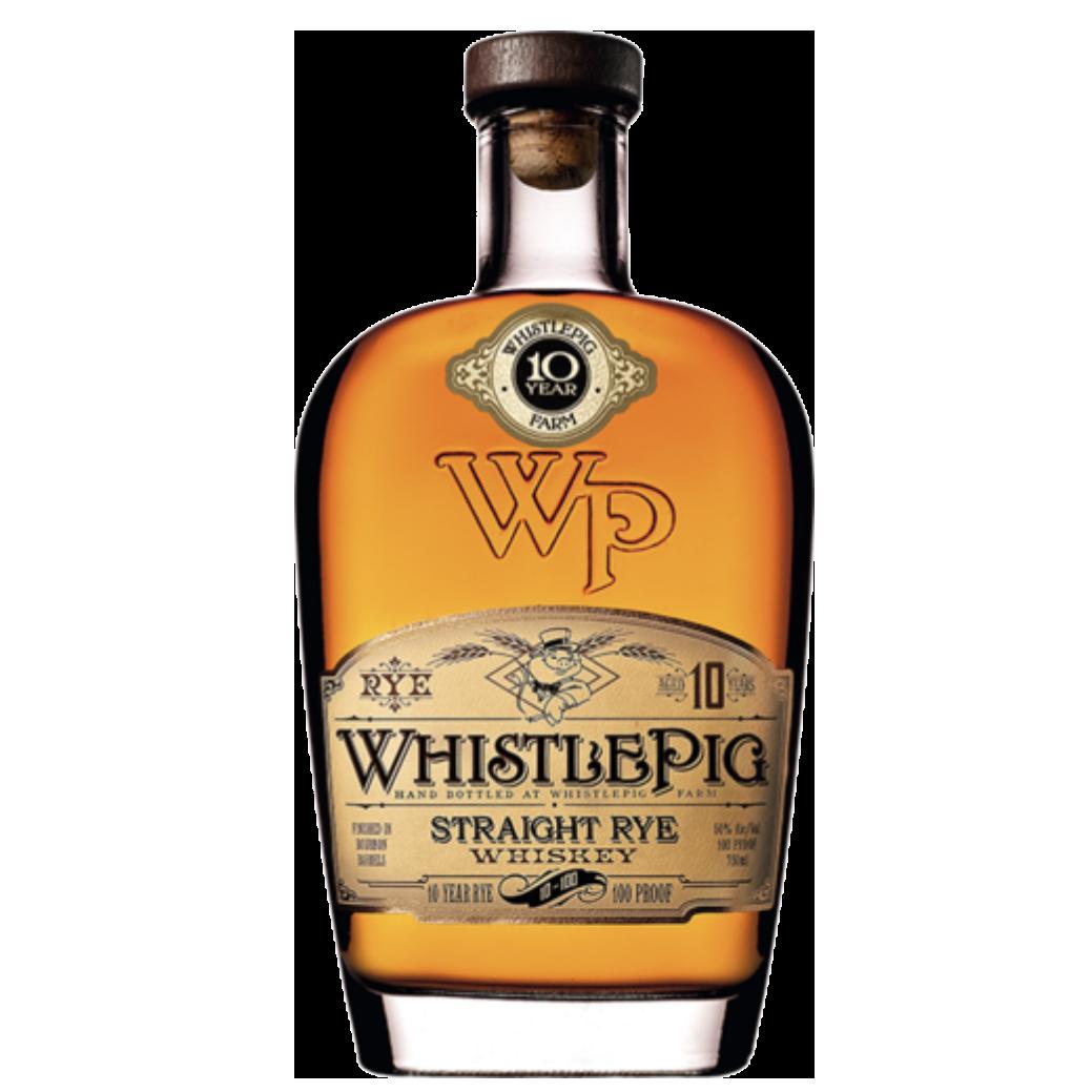 whistlepig straight rye 10yr