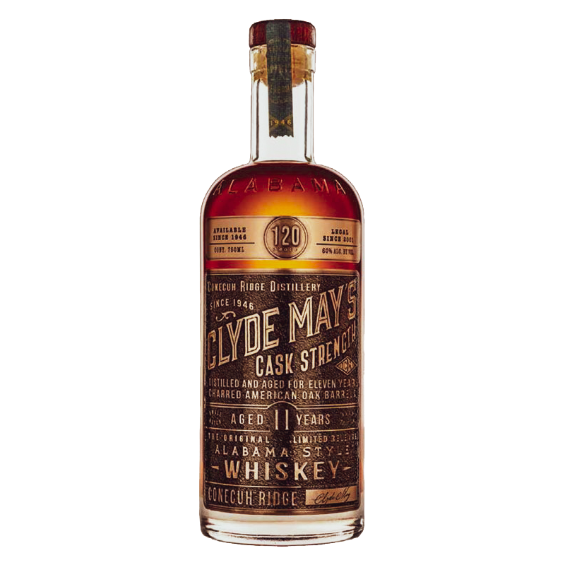 clyde may's cask strength 11yr 120 proof