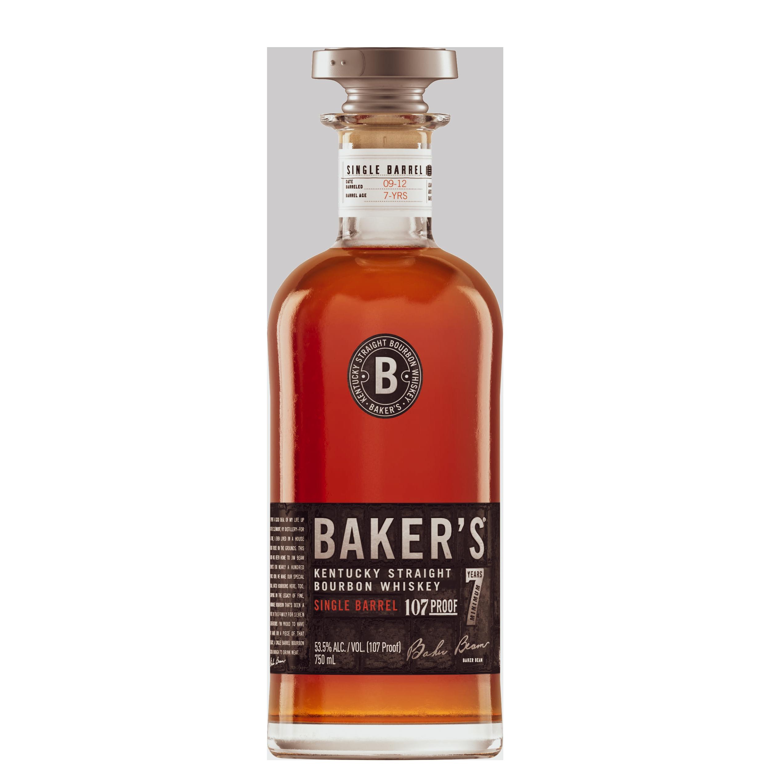 Baker's 7 Year Kentucky Straight Bourbon Single Barrel