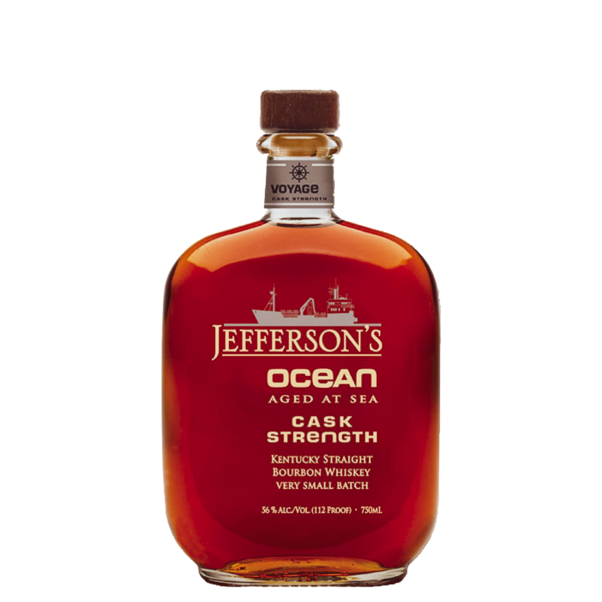jefferson's ocean aged at sea straight bourbon cask strength
