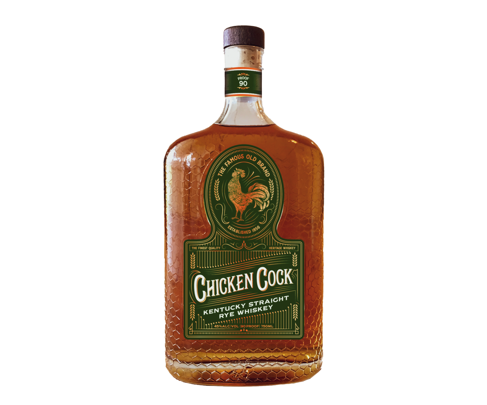 chicken cock rye whiskey