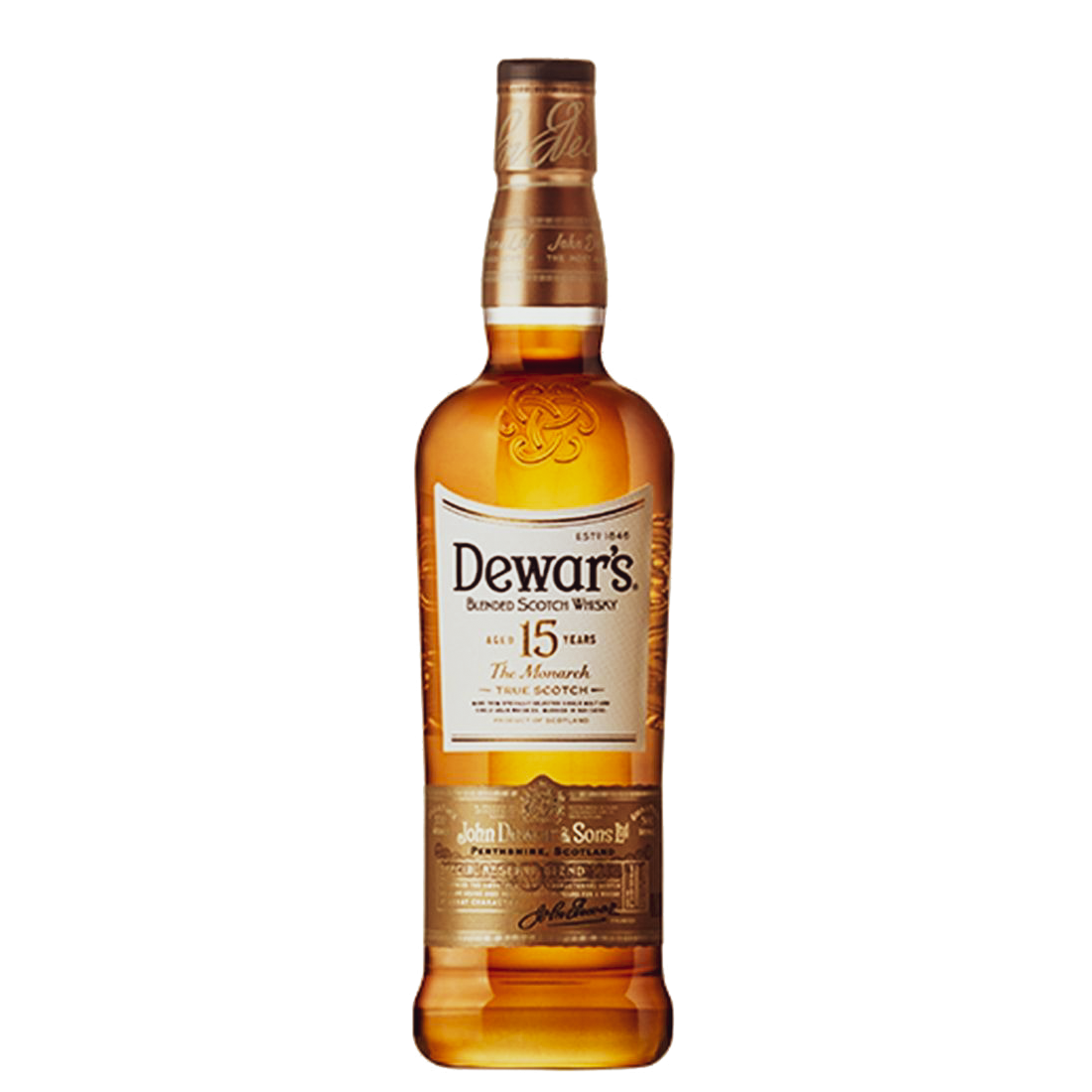 Dewars 15 Year Old Blended Scotch