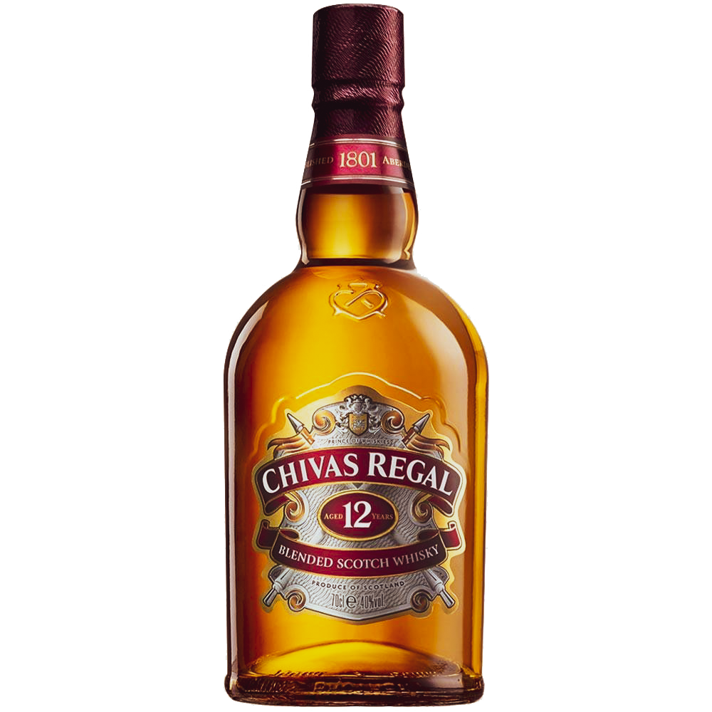Chivas Regal 12 Year Old Blended Scotch