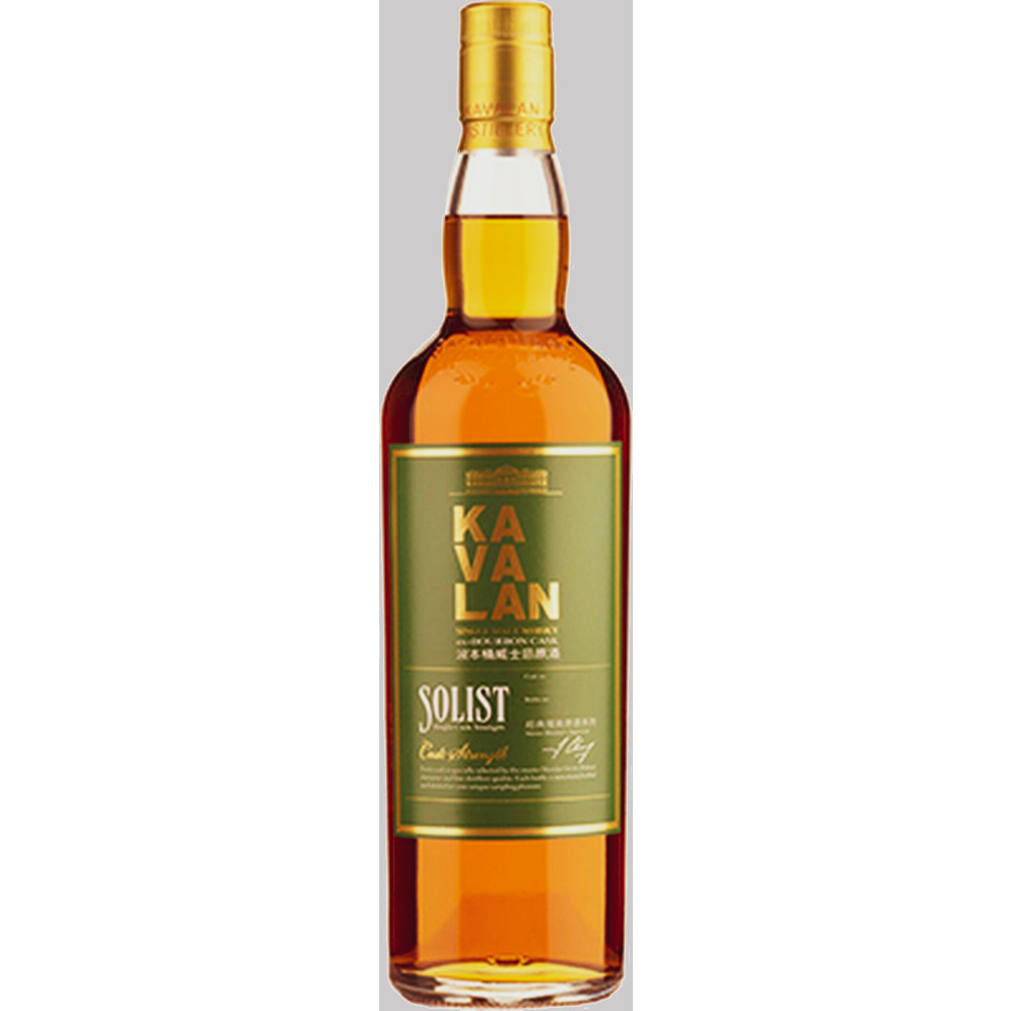 Kavalan ex Bourbon Cask bottled at Cask Strength