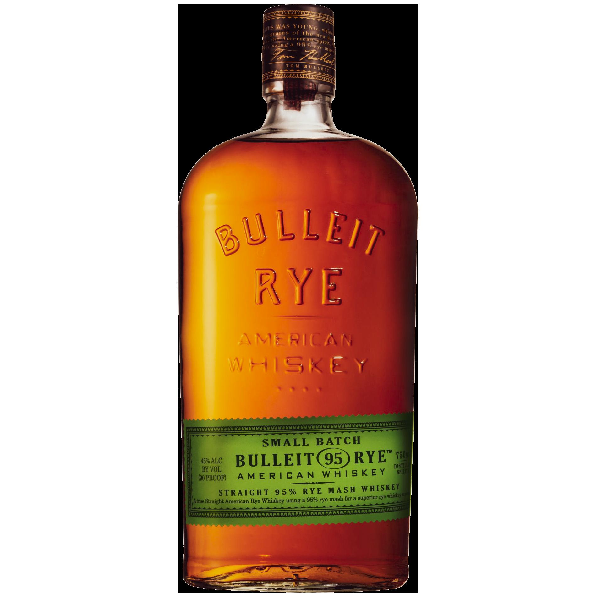 Bulleit 95 Straight Rye Whiskey