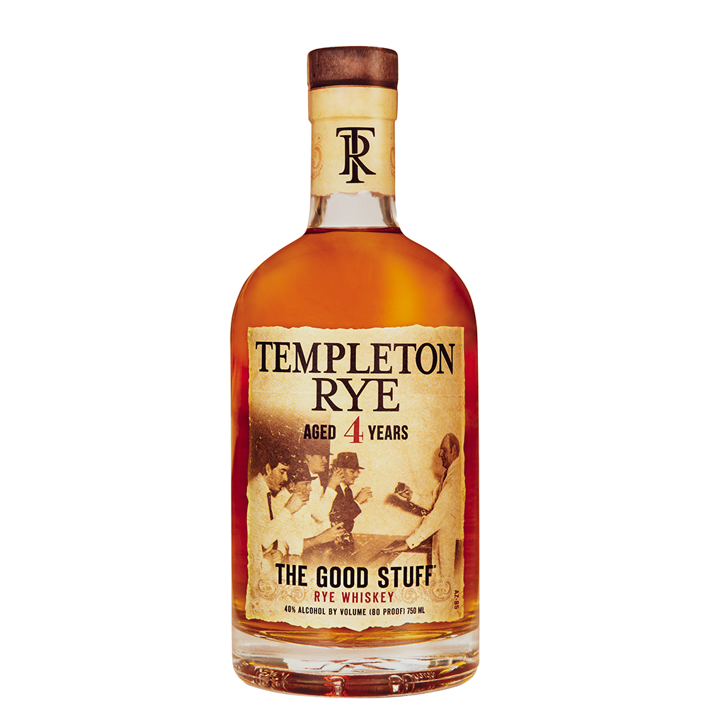 Templeton Rye Aged 4 years